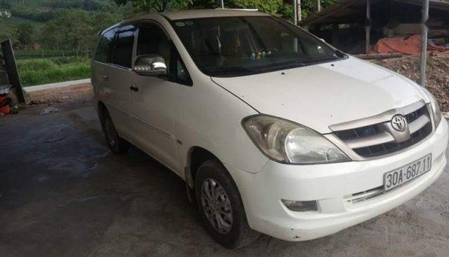 Bán ô tô Toyota Innova năm sản xuất 2007, màu trắng