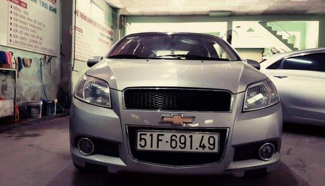 Bán ô tô Chevrolet Aveo sản xuất năm 2016, màu bạc số sàn