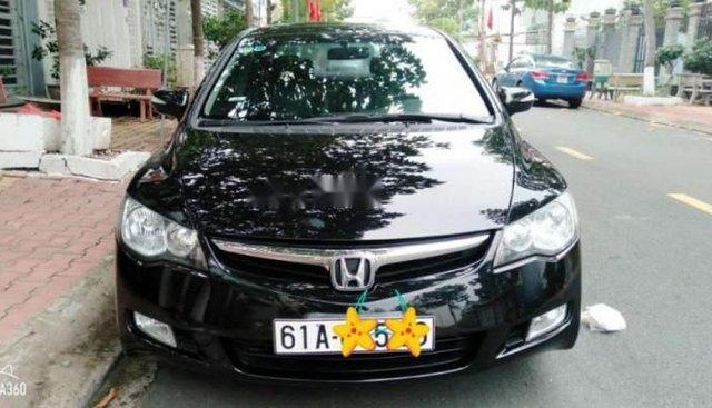 Bán gấp Honda Civic 2.0 AT 2008, màu đen, giá 380tr