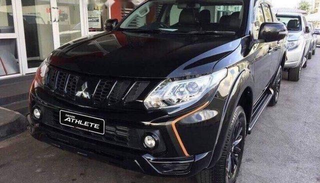 Cần bán xe Mitsubishi Triton sản xuất 2019, màu đen, nhập khẩu, 556tr