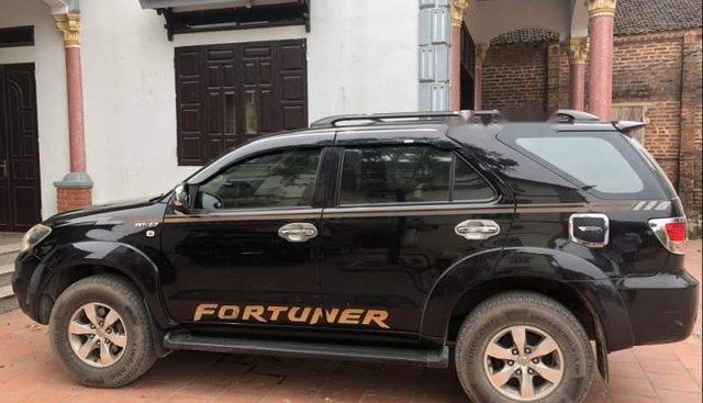 Bán xe Toyota Fortuner sản xuất 2009, màu đen, xe nhập xe gia đình
