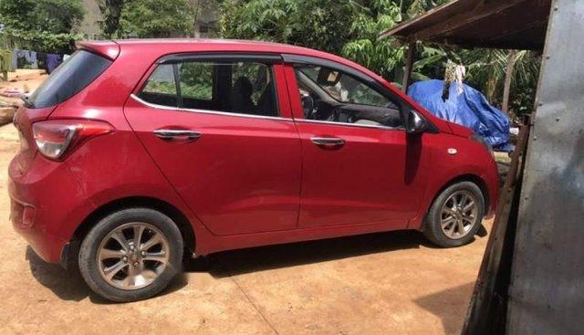 Cần bán gấp Hyundai Grand i10 2014, màu đỏ, xe nhập chính chủ