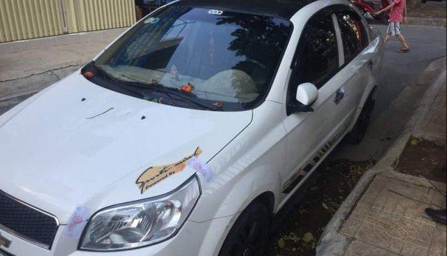 Bán xe cũ Chevrolet Aveo năm sản xuất 2017, màu trắng