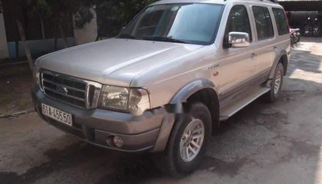 Bán Ford Everest đời 2006, màu bạc, xe nhập