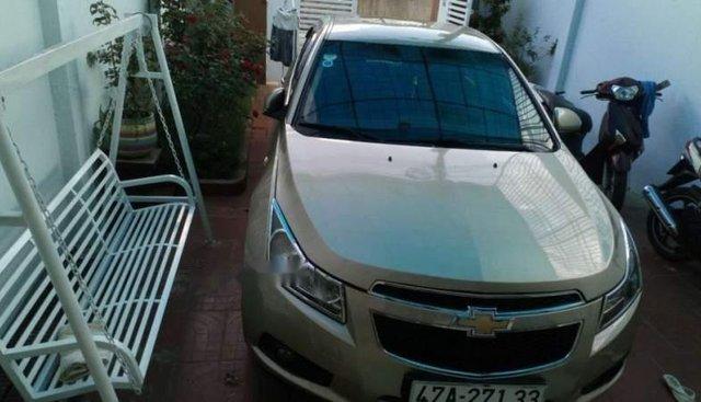 Bán Chevrolet Cruze đời 2011, màu vàng, nhập khẩu
