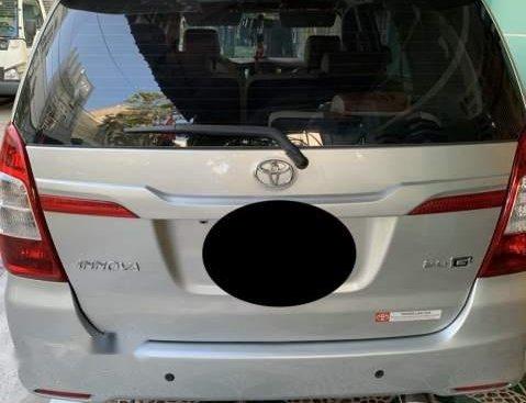 Bán xe Toyota Innova G 2014, màu bạc, giá 535tr