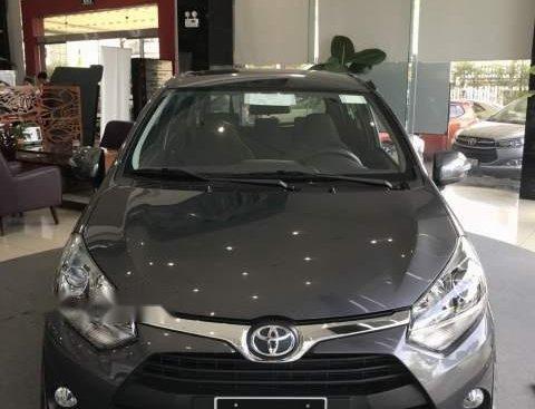 Bán Toyota Wigo G sản xuất 2019, màu xám, xe nhập