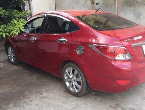 Cần bán lại xe cũ Hyundai Accent 1.4 đời 2011, màu đỏ
