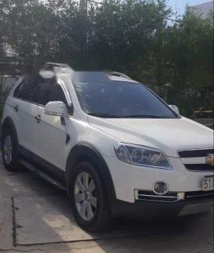 Bán Chevrolet Captiva LTZ đời 2011, màu trắng, xe còn mới