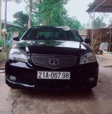 Bán xe cũ Toyota Vios đời 2006, màu đen