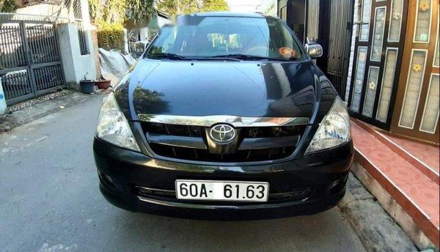 Bán Toyota Innova G sản xuất 2006, màu đen, số sàn