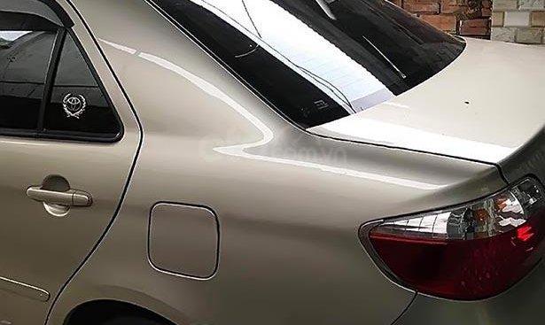 Cần bán xe Toyota Vios 1.5G sản xuất năm 2003, màu vàng