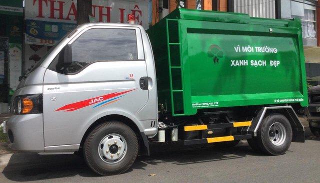 Bán xe chuyên dùng thu gom rác thải JAC 3.5 khối