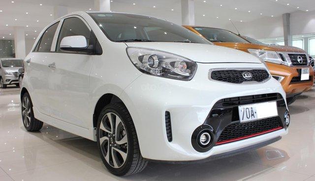 Cần bán xe Kia Morning SI 1.2 2018, màu trắng