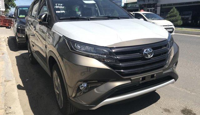 Bán ô tô Toyota Rush AT đời 2019, xe nhập, màu bạc, đồng/đen/trắng/đỏ