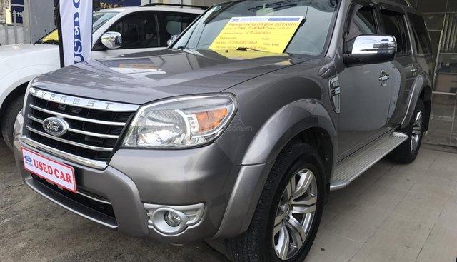 Bán Ford Everest 2.5AT sản xuất năm 2011, màu xám, giá chỉ 530 triệu thương lượng