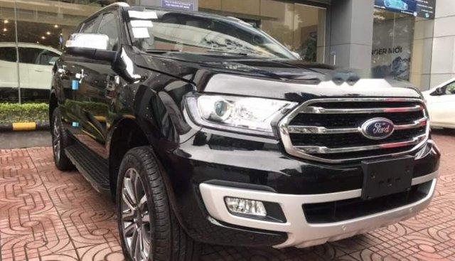 Bán Ford Everest năm 2019, màu đen, nhập khẩu Thái Lan