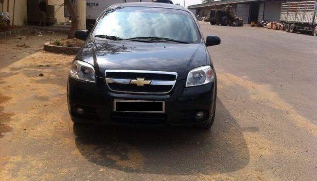 Cần bán lại Chevrolet Aveo đời 2013, màu đen, xe còn mới