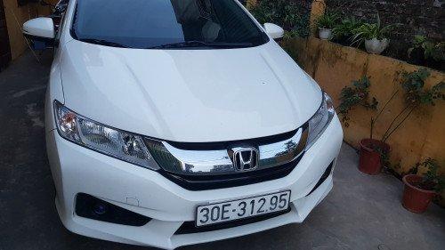 Cần bán Honda City AT năm 2016, màu trắng