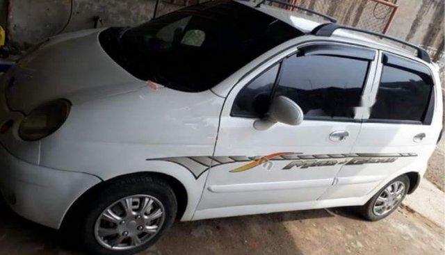 Cần bán xe Daewoo Matiz SE 0.8 MT đời 2007, màu trắng, giá chỉ 60 triệu