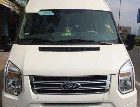 Bán ô tô Ford Transit 2012, màu trắng, xe đẹp, đang chạy du lịch