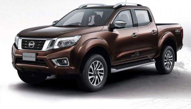 Bán Nissan Navara đời 2018, màu nâu, xe nhập
