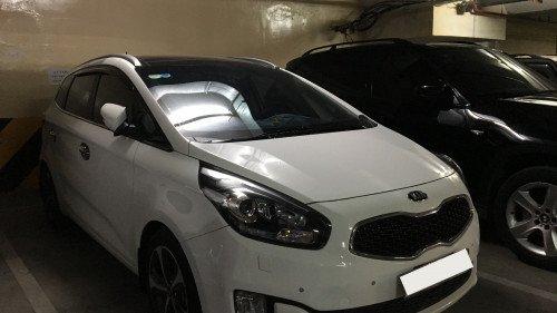 Xe Kia Rondo 2.0 AT đời 2015, màu trắng, giá tốt