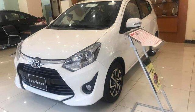 Bán Toyota Wigo năm 2019, màu trắng, nhập khẩu