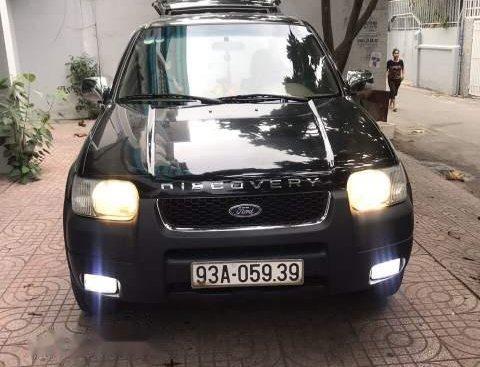 Bán xe Ford Escape XLT 2.4 AT sản xuất 2001, màu đen, giá 145tr