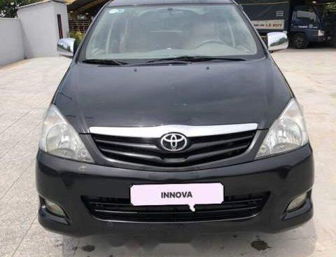 Bán Toyota Innova G 2008, màu đen, giá tốt