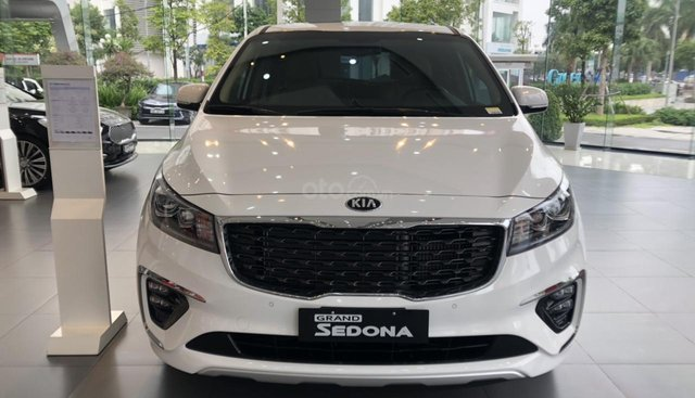 Kia Sedona Deluxe 2019 - 1,109 tỷ, thanh toán 15% nhận xe, nhiều ưu đãi hấp dẫn khác