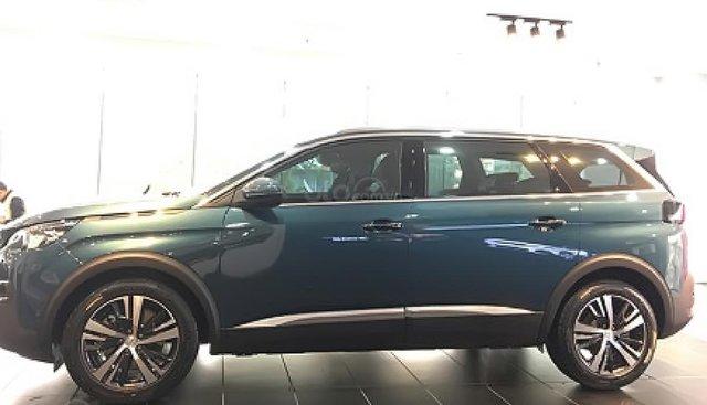 Bán Peugeot 5008 1.6 AT đời 2019, màu xanh lam
