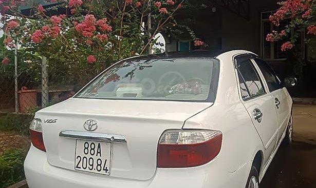 Cần bán Toyota Vios G 2003, màu trắng, nhập khẩu giá cạnh tranh