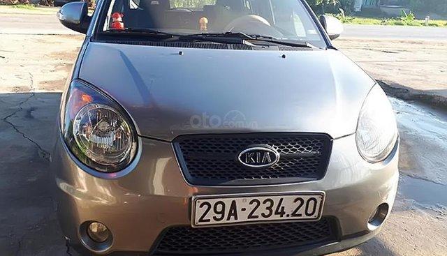 Bán Kia Morning SLX 1.0 AT sản xuất năm 2008, màu xám, nhập khẩu