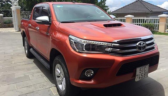 Chính chủ bán Toyota Hilux năm 2016, nhập khẩu nguyên chiếc