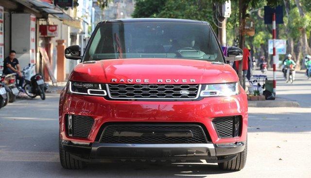 Bán LandRover Range Rover Sport HSE model 2019 màu đỏ, xe nhập mới 100%