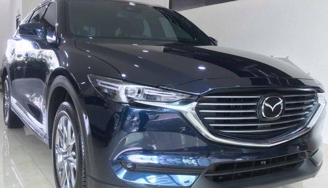 Bán ô tô Mazda CX-8 Luxury 2019, màu xanh, giá 1.199 triệu, hỗ trợ trả góp 85%