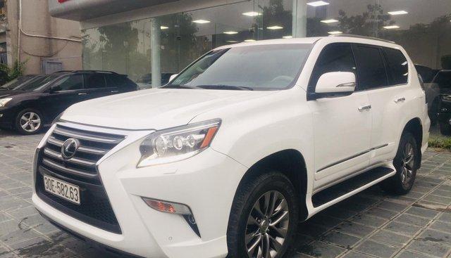Bán Lexus GX 460 sản xuất 2015, đăng ký 2016, màu trắng, nhập khẩu Trung Đông