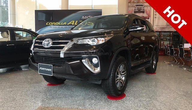 Bán Toyota Fortuner 2019 số tự động chỉ từ 350tr TT trước. Lãi suất 0.5%/Th - Tìm hiểu ngay