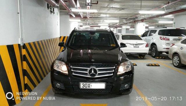 Bán Mercedes GLK 300 năm 2009, màu đen, nhập khẩu nguyên chiếc, giá chỉ 625 triệu