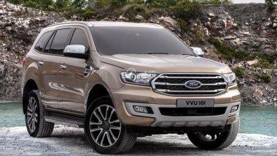 Bán Ford Everest 2.0L Turbo hộp số 10 cấp 2019, giảm lên tới 60tr có xe giao ngay: 0915445535