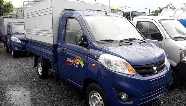 Bán xe Foton 1.5L thùng mui bạt 990kg 2019 màu xanh - Hỗ trợ trả góp 80%