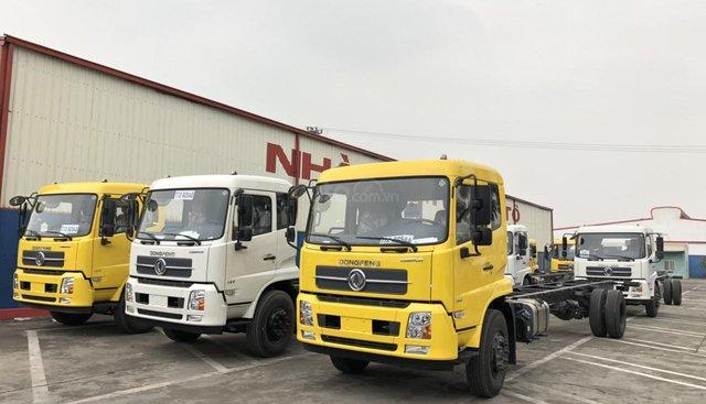 Bán xe Dongfeng B180 đời 2019, thùng dài 9m5, nhập khẩu