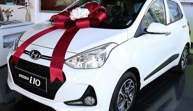 """""""HOT"""" Tặng 10 triệu phụ kiện - Chỉ 124 triệu - Hyundai Grand i10 Hatchback 1.2MT 2019, trả góp 85% - SĐT 0933598285"""