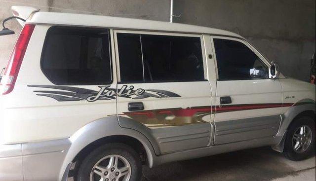 Cần bán Mitsubishi Jolie sản xuất 2004, màu trắng, xe gia đình đi kỹ, đẹp, máy êm ru