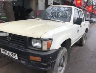 Bán Toyota Hilux 2.4L 4x4 MT đời 1995, màu trắng, nhập khẩu nguyên chiếc, chạy khỏe, không hư hỏng