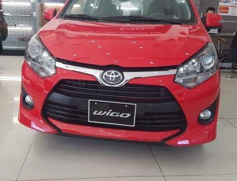 Bán Toyota Wigo 1.2 MT 2019, màu đỏ, xe nhập