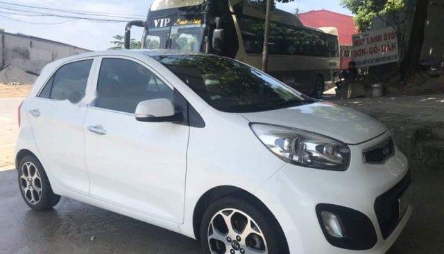 Bán xe Kia Morning số tự động, sản xuất 2015, máy 1.25, xe trong nước, màu trắng