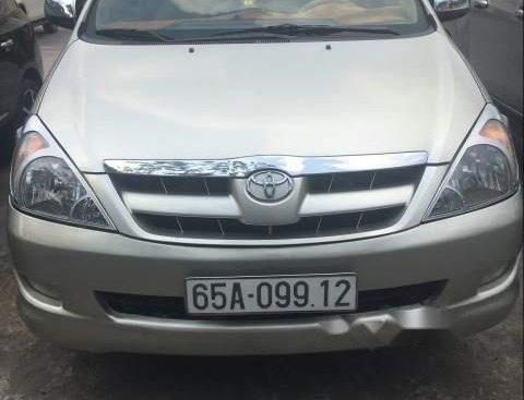 Bán Toyota Innova G năm 2006, màu bạc, nhập khẩu