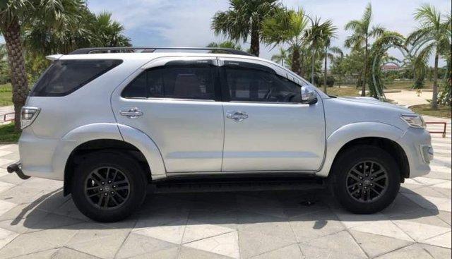 Cần bán gấp Toyota Fortuner G 2.5MT năm 2014, màu bạc chính chủ